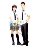中学生制式夏季校服|SBA014