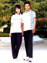 中学生运动款校服|SAA021