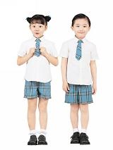 小学生制式夏季校服|SBA007
