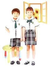 小学生制式夏季校服|SBA001