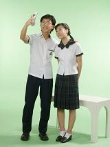 时尚制式校服夏装|SBA022
