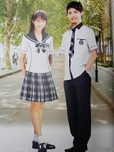 贵族学校夏季校服|SBA016