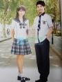贵族学校夏季校服 SBA016