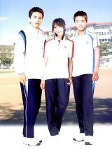 中学生运动款校服|SAA018