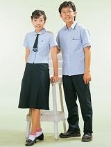 中学生制式夏季校服|SBA021