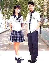 中学生制式夏季校服 SBA012
